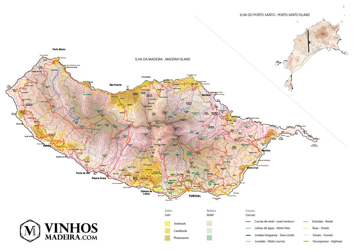 Mapa da Madeira