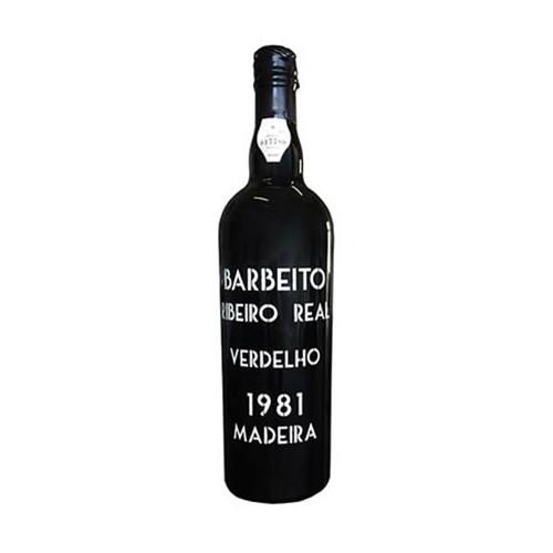Barbeito Verdelho Ribeiro Real Madeira 1981