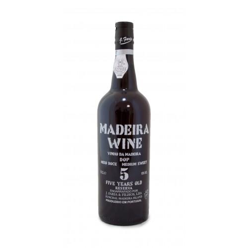 Vinho Madeira Meio Doce 5A