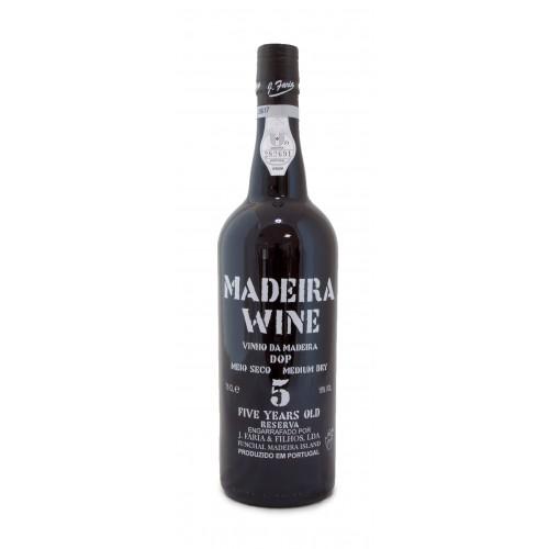 Vinho Madeira Meio Seco 5A